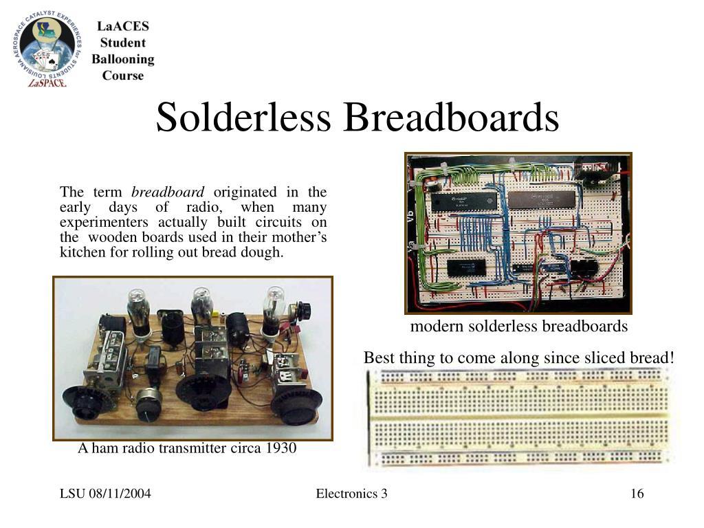 Solderless Breadboards