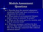 module assessment questions