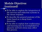 module objectives continued10