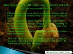 energypac agro ltd eal energetically set out its journey emphasizing