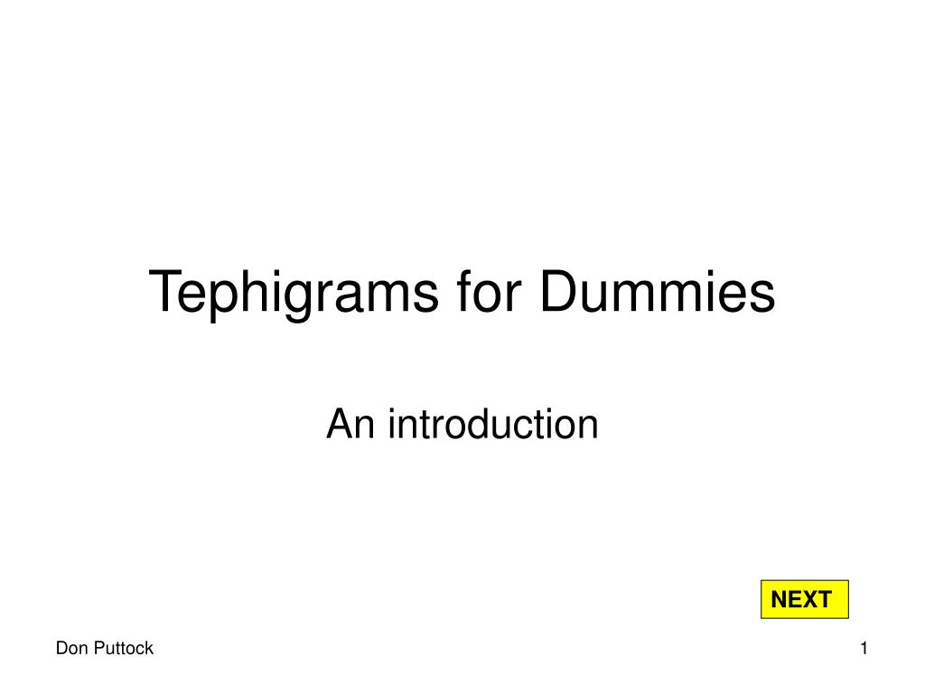 tephigrams for dummies l.