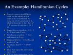 an example hamiltonian cycles