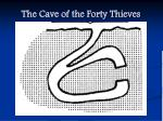the cave of the forty thieves