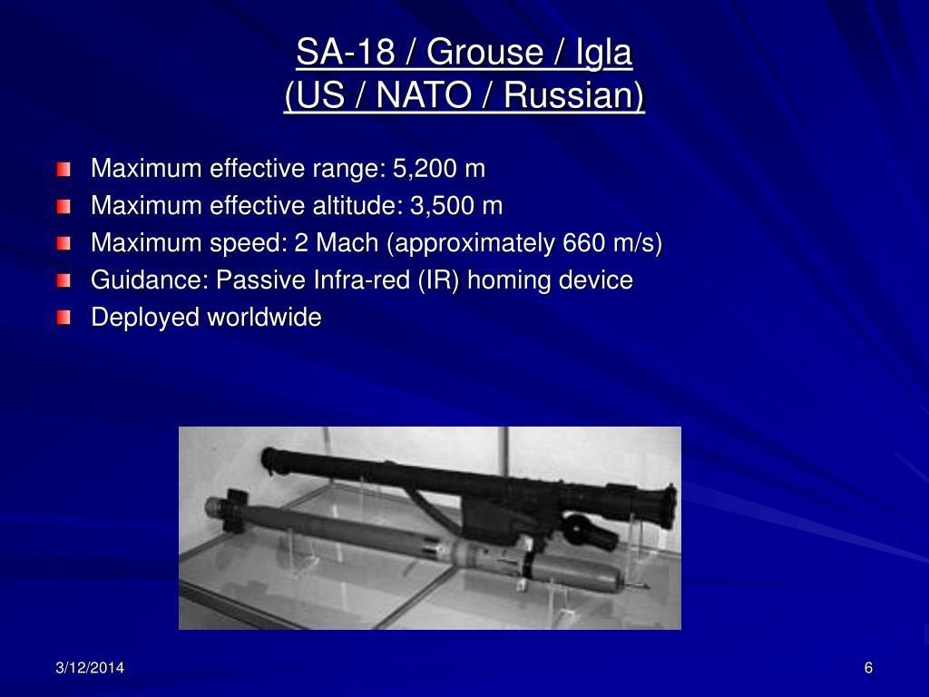 SA-18 / Grouse / Igla