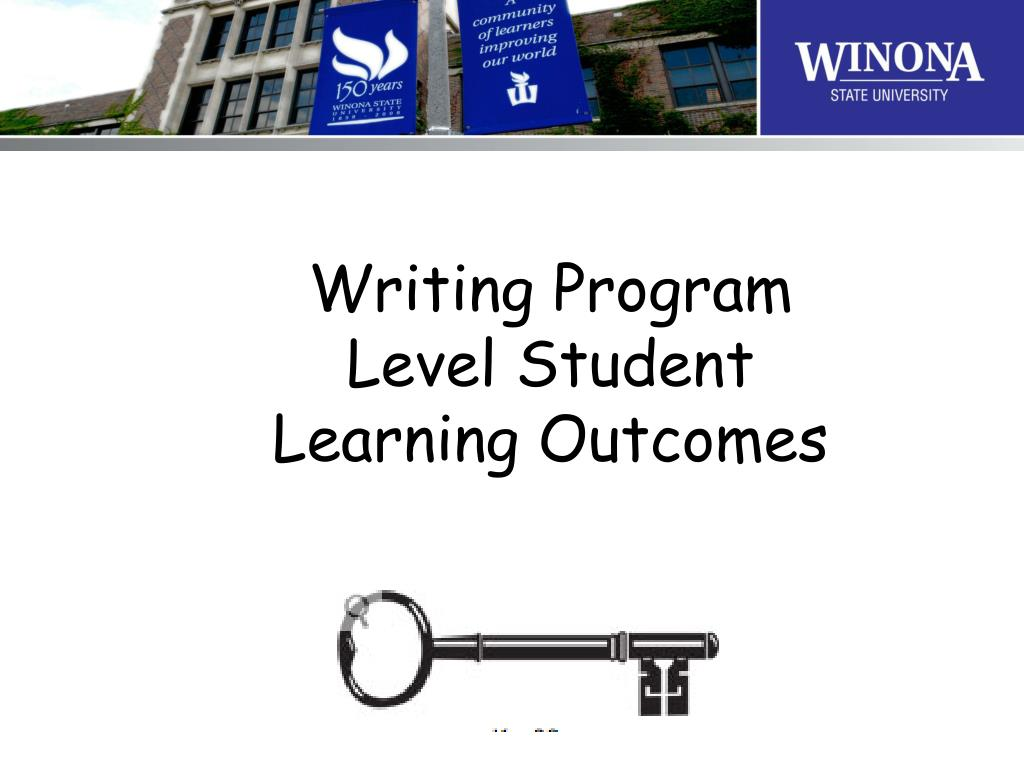 writing program level student learning outcomes l.