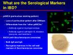 what are the serological markers in ibd