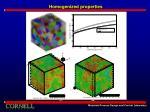 homogenized properties