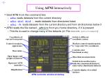 using afni interactively