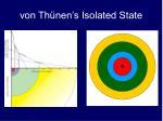 von th nen s isolated state