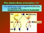 the alpha beta principles 1