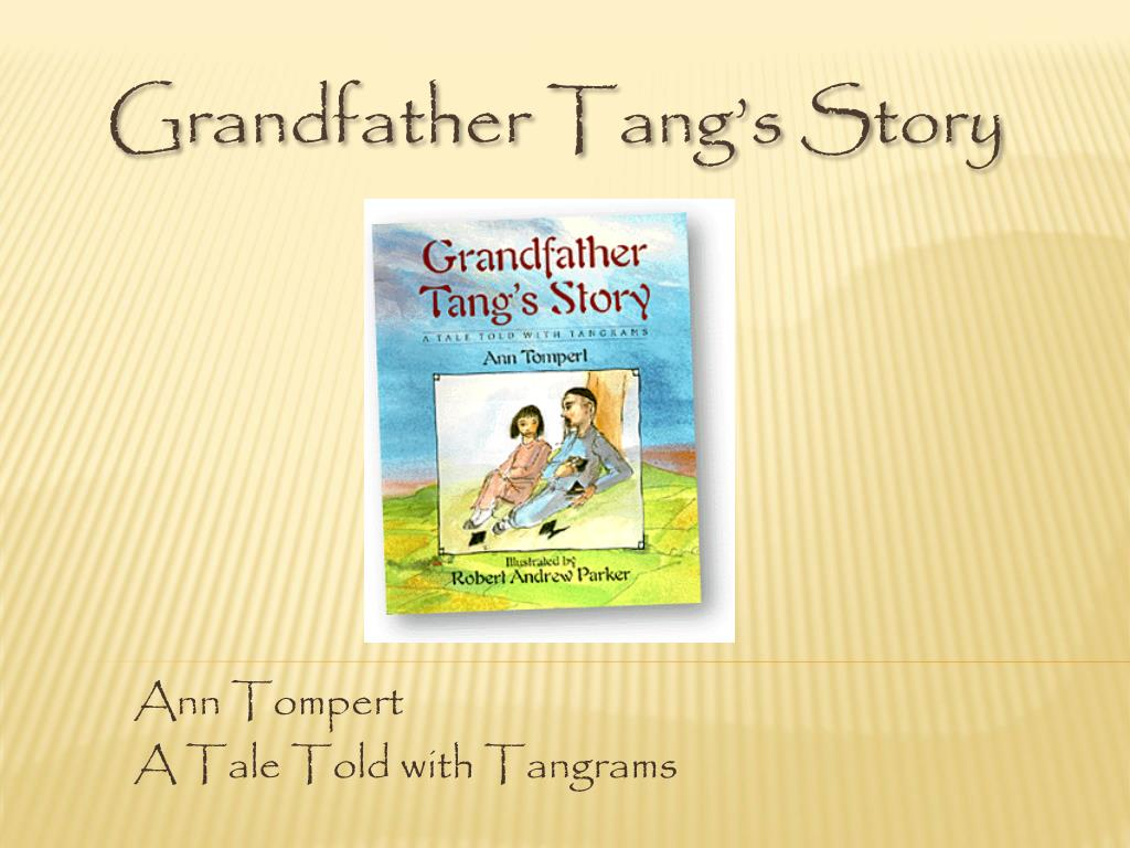 ann tompert a tale told with tangrams l.