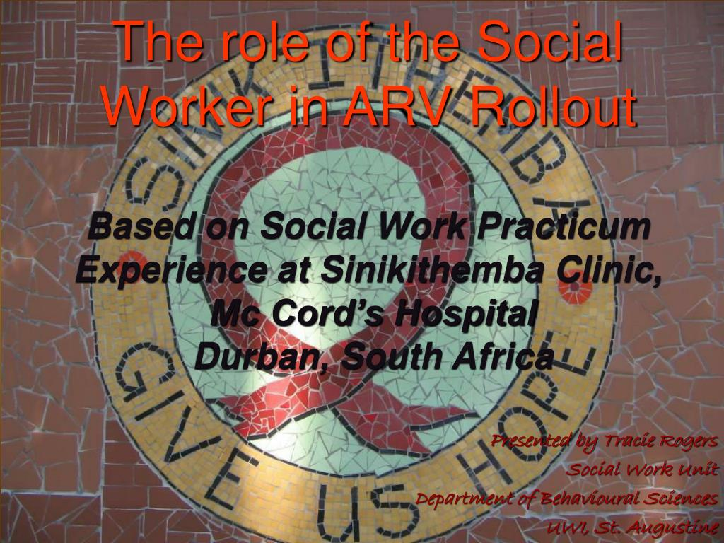 presented by tracie rogers social work unit department of behavioural sciences uwi st augustine l.