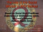 presented by tracie rogers social work unit department of behavioural sciences uwi st augustine