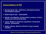 associations of cd