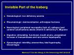 invisible part of the iceberg