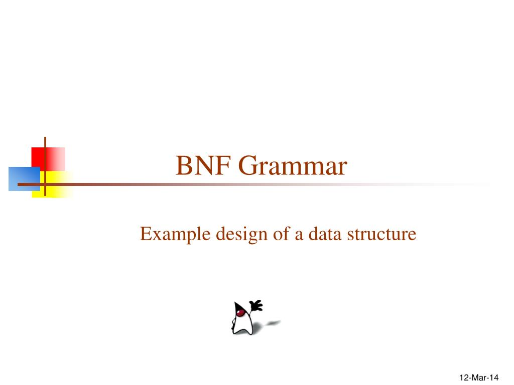 bnf grammar l.