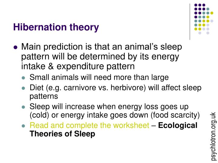 Hibernation theory