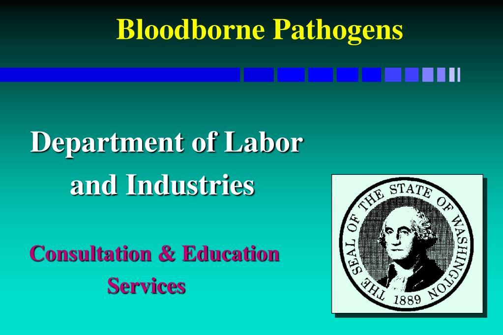 bloodborne pathogens l.