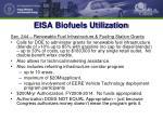 eisa biofuels utilization
