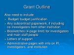 grant outline30