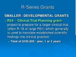 r series grants21