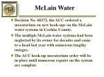 mclain water