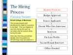 the hiring process2