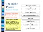 the hiring process5