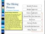 the hiring process8