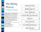 the hiring process9