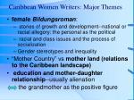 caribbean women writers major themes