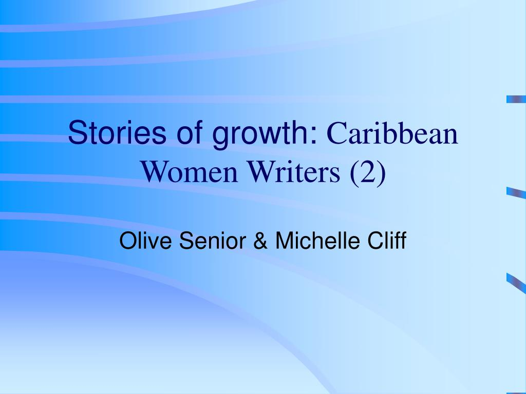 stories of growth caribbean women writers 2 l.