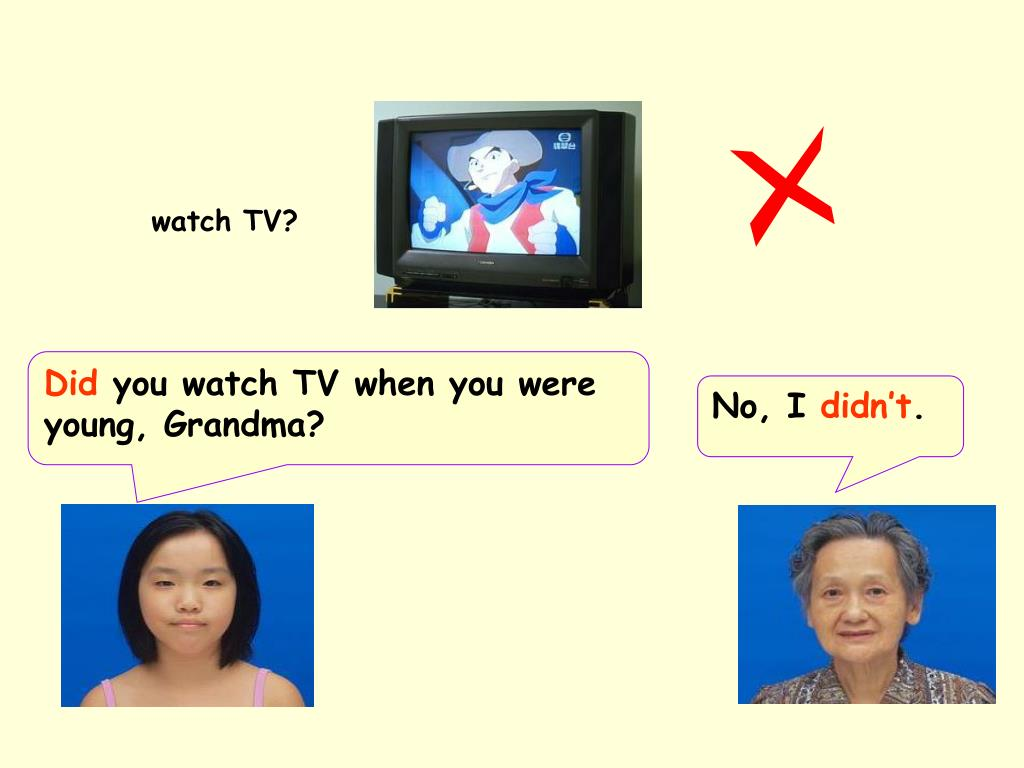 watch TV?