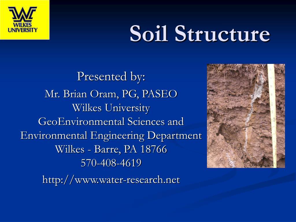 soil structure l.
