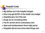 hospital costs