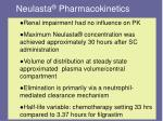 neulasta pharmacokinetics