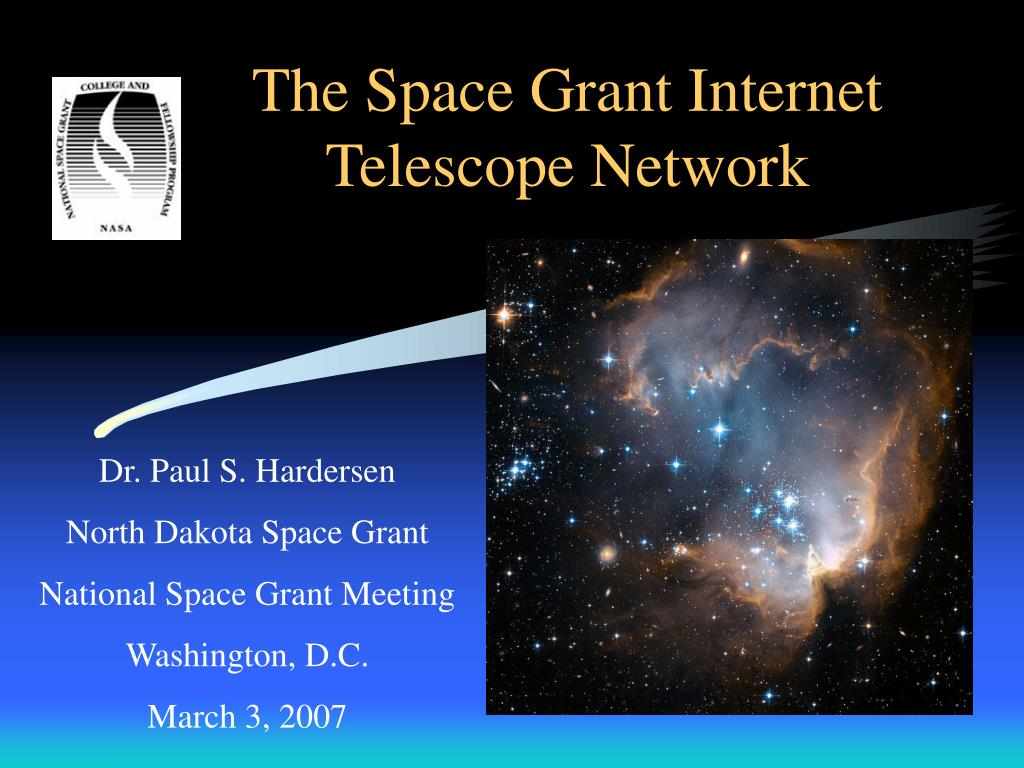 the space grant internet telescope network l.