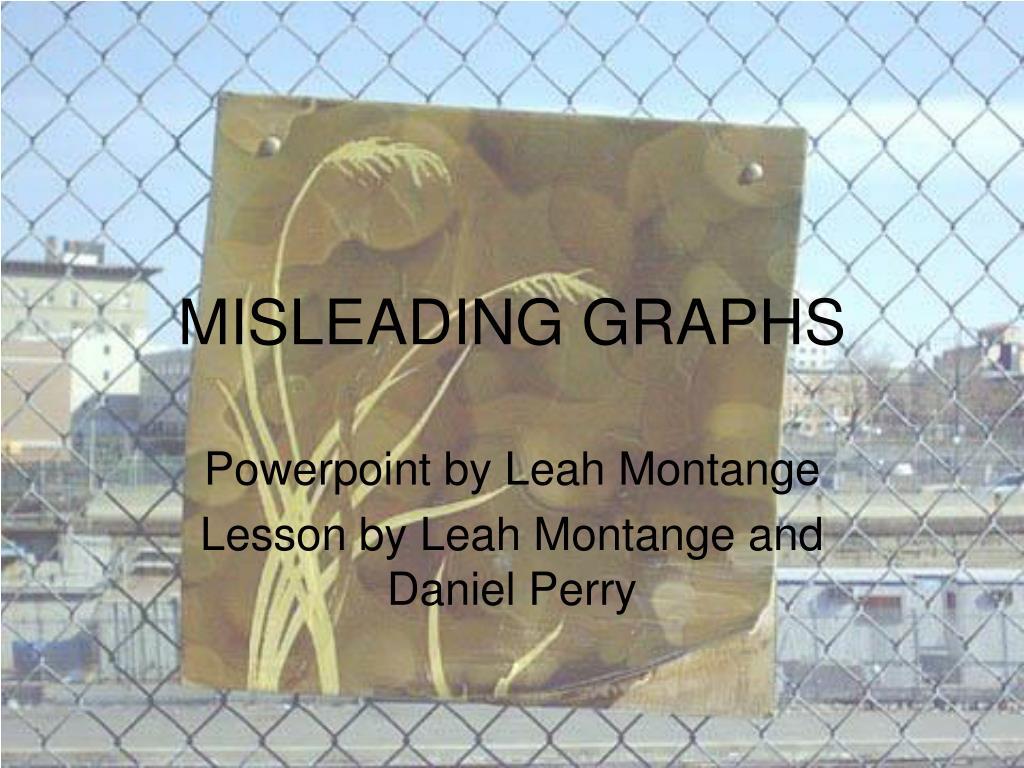 misleading graphs l.