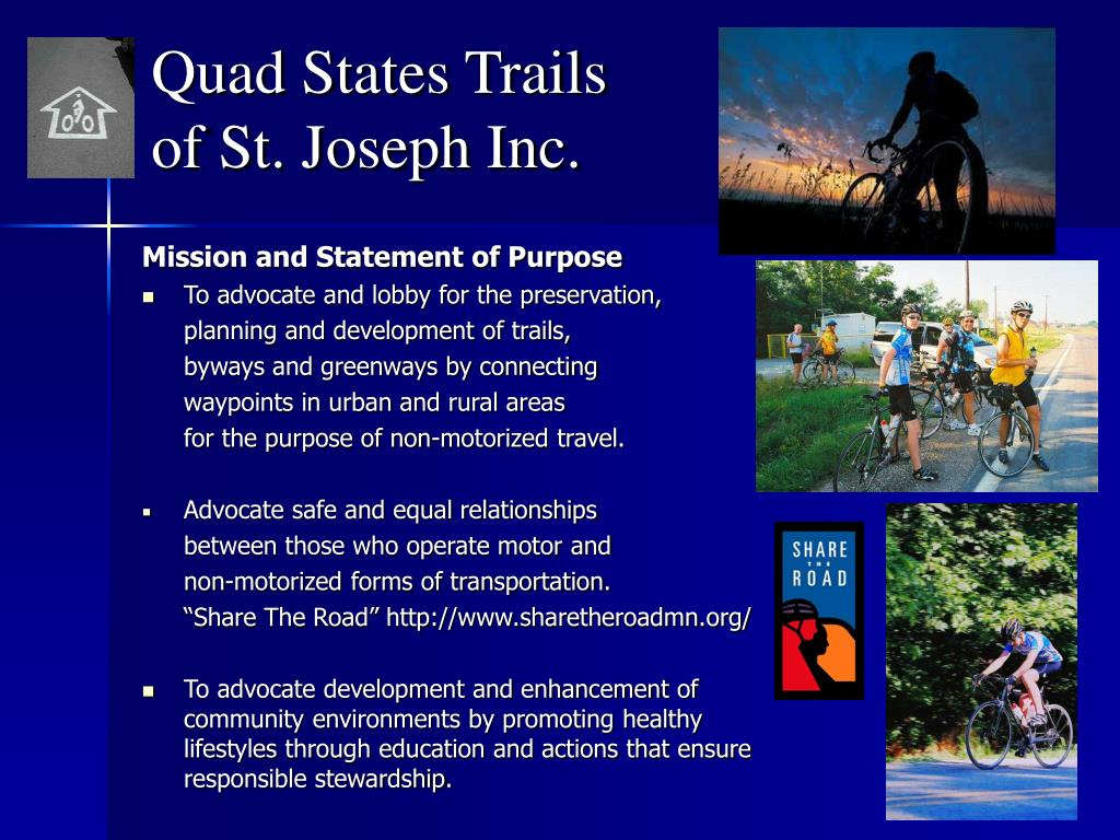 quad states trails of st joseph inc l.