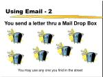using email 2