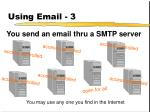 using email 3