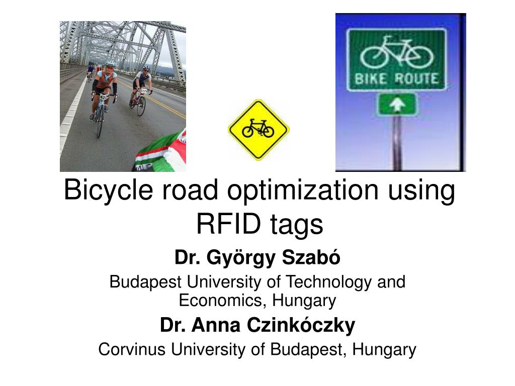 bicycle road optimization using rfid tags l.