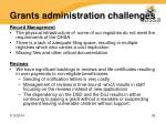grants administration challenges28