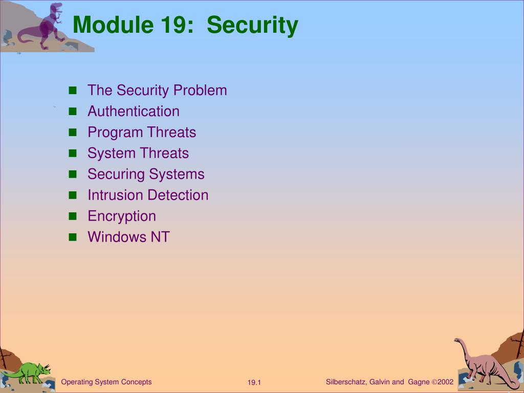 module 19 security l.