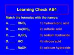 learning check ab4