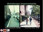 streetscape improvements