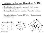 famous problems hamilton tsp