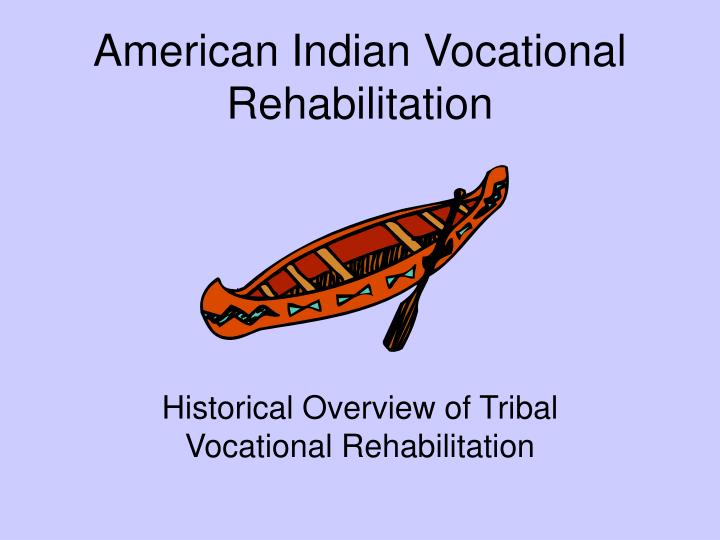american indian vocational rehabilitation n.