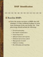 bmp identification