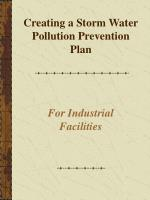 creating a storm water pollution prevention plan